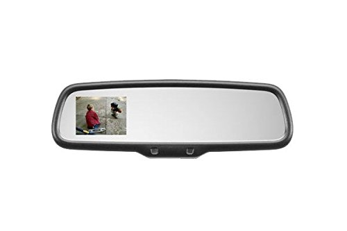 GENK352 3.5 Auto-Dimming Backup Monitor Video Mirror