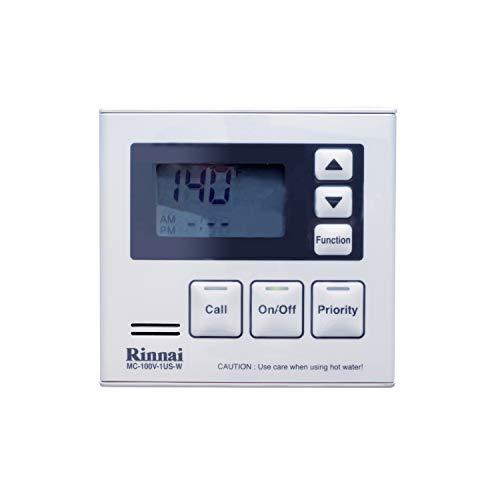 Rinnai MC-100V-1W Deluxe Remote Controller, White