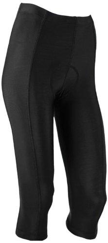 Canari Cyclewear Women's Pro Tour Knicker Padded Cycling Short (Black, Medium)