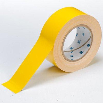 Brady ToughStripe Floor Marking Tape - Yellow, Non-Abrasive Tape - 3'' Width, 100' Length