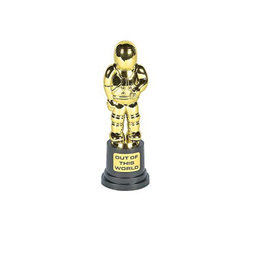 Fun Express Out-of-this-World Astronaut Trophies (12 Pack) Plasic. 6