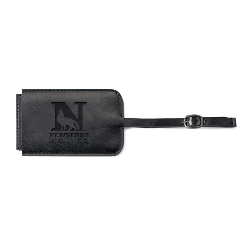 Newberry Fabrizio Black Luggage Tag 'Official Logo Engraved' by CollegeFanGear