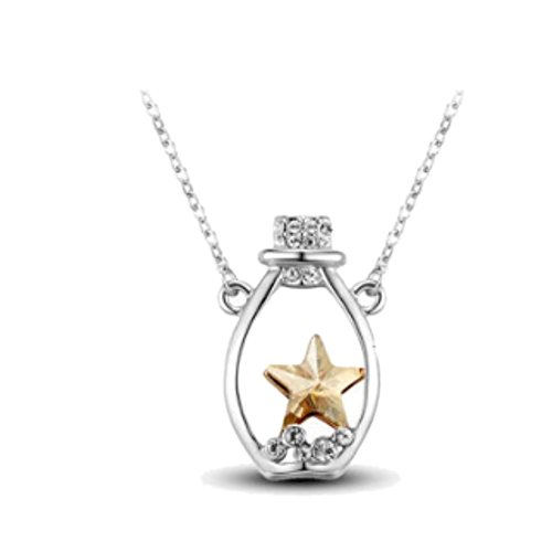 NL-07064C3 Alloy Geometric Jewels Women Necklace