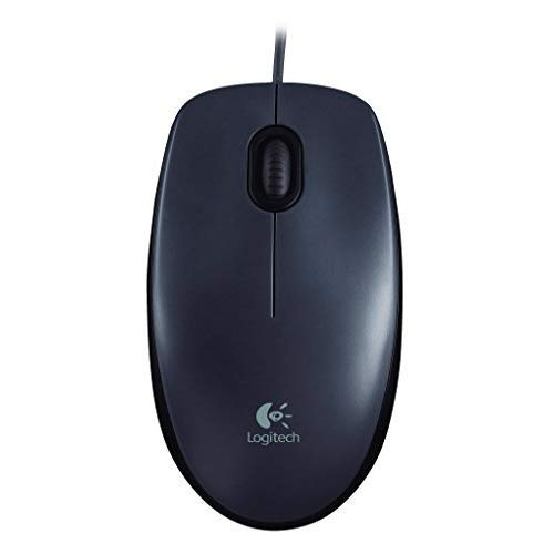 Logitech Wired Mouse M90 Black USB