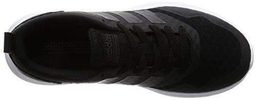 Adidas Cloudfoam Lite Flex W, Scarpe da Ginnastica Donna, Nero (Negbas/Negbas/Grpudg), 36 EU