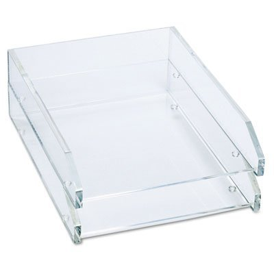 Two Tier, Acrylic, Clear, Sold as 1 Each ()