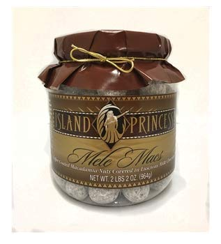 Mele Macs Toffee Coated Macadamia Nuts Covered In Luscious Milk Chocolate 2.2 lbs (964g) by Island Princess
