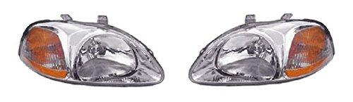 Honda Civic Lh Headlamp - 7