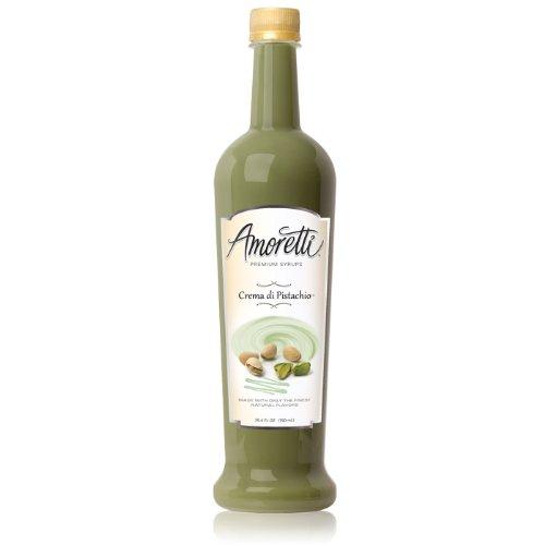 Amoretti Premium Syrup Crema Di Pistachio 254 Ounce