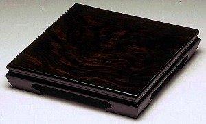 【花台】黒丹 正方形 黒丹調☆飾り台 国産品 2サイズ展開 (8号) B00FMQ5692   8号
