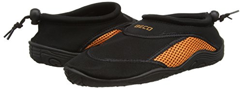 Badeschuh Shoes Black Beco Orange Adult Unisex Surf qfwwa7d