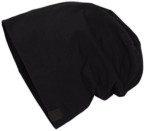 para black Jersey Hombre MSTRDS Schwarz Gorros Punto de Beanie 1137 4559 Xwnw8F