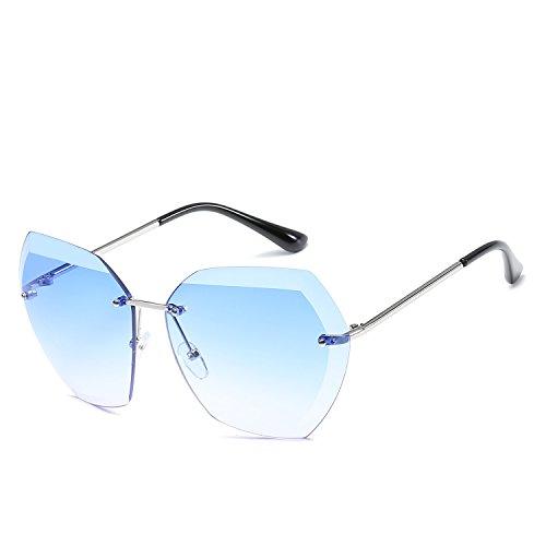 Piloto Metal Gafas polarizado Lente Color de Espejo de señoras 8 400 UV Protegido Sakuldes Sol 6 Tfxaw0qwX