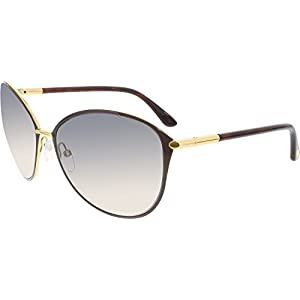 Tom Ford Sunglasses Women TF 320 Brown 28F Penelope 59mm