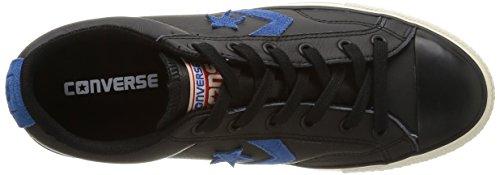 Converse Sp Fundam Leath - Zapatillas bajas para hombre Negro (Noir/Bleu)