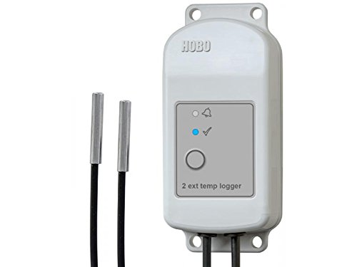 Onset HOBO MX2303 Weatherproof Bluetooth Dual Temperature Data Logger w/ External Sensors