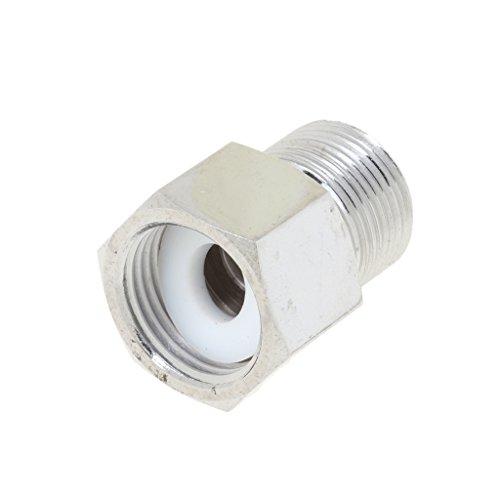 0.625 Cylinder (Jili Online Aquarium CO2 Tank Cylinder Adapter Converter Bolt Nut for Co2 Regulator, W21.8 to G5/8 ,G5/8 to W21.8, M22x1.5 to G5/8 , G5/8 to M22x1.5 - Silver, G5/8 to M22x1.5)