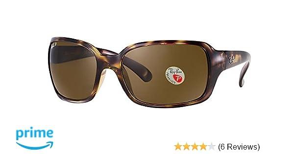 Ray-Ban Womens Rb4068 Square Sunglasses