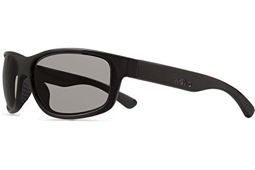 Revo Baseliner RE 1006 Polarized Wrap Sunglasses, Matte Black/Graphite, 61 - Revo Sunglasses Prescription