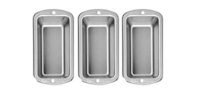 Wilton Recipe Right 3 Piece Mini Loaf Pan Set
