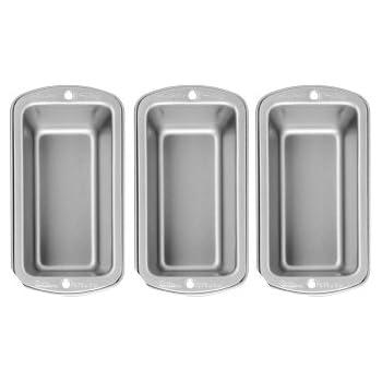Wilton Recipe Right 3 Piece Mini Loaf Pan Set