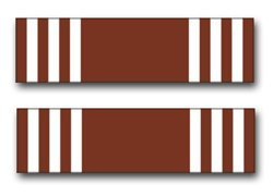 United States Army Good Conduct Medal Ribbon Decal Sticker 3.8