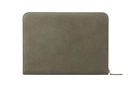 "Incase Leather Sleeve for 11"" MacBook Air - Moss Green / Warm Grey - ES87047"