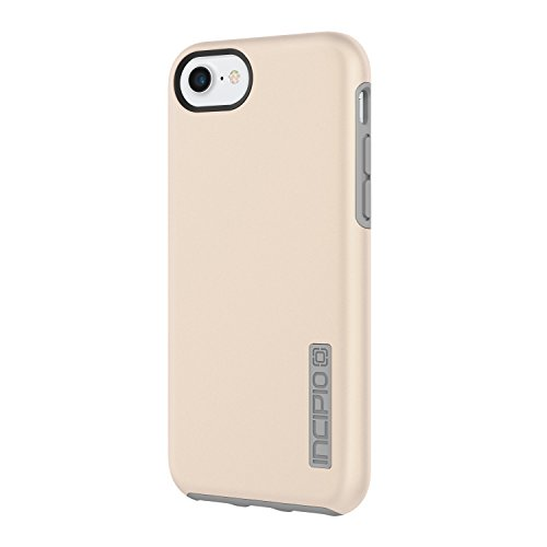Incipio DualPro iPhone 8 & iPhone 7/6/6s Case with Shock-Absorbing Inner Core & Protective Outer Shell for iPhone 8 & iPhone 7/6/6s - Iridescent Champagne/Gray (Dual Pro Iphone 5s Case)