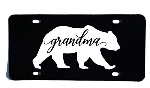 - Grandma Bear Vanity License Plate Auto Car Tag