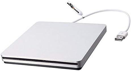 DVDドライブ PCのラップトップ用の光学ドライブレコーダーオリジナルBestrunner USB2.0インターフェース外付けDVD CD-ROM CDドライブ (Color : Gray, Size : One size)