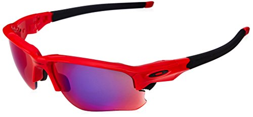 (Oakley Men's Flak Draft Non-Polarized Iridium Rectangular Sunglasses, Matte Black, 67.0 mm)