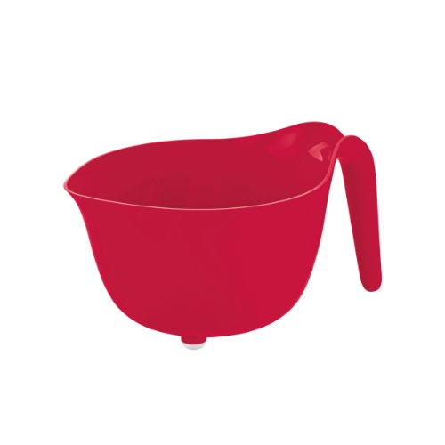koziol MIXXX Mixing Bowl 2 l / 68 fl.oz., solid raspberry red by Koziol