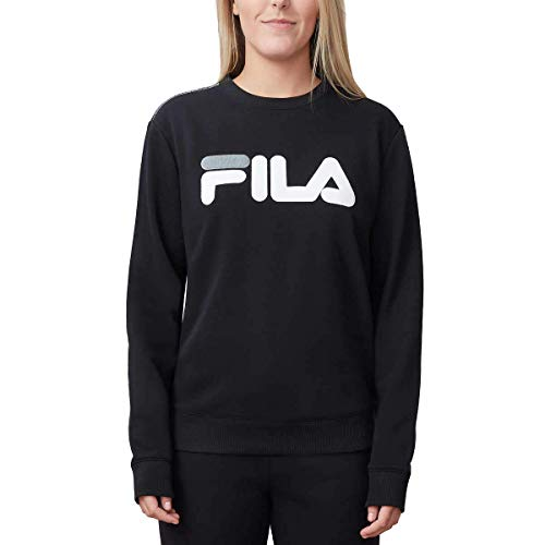 Fila Ladies' French Terry Crewneck, Black, X-Large from Fila