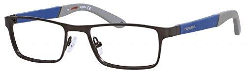 Carrera 7606 Eyeglass Frames CA7606-01G0-4817 - Gunmetal Frame, Lens Diameter 48mm, Distance