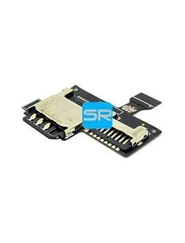 Samsung-Lector de tarjeta SIM y SD Galaxy S4 Mini: Amazon.es ...