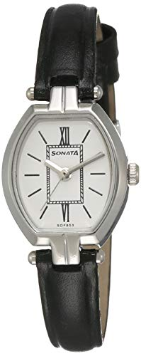 Sonata Analog White Dial Women #39;s Watch  NK8083SL03 / NK8083SL03