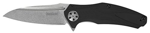 Kershaw Natrix Multifunction Utility Pocket Knife, Black, Small