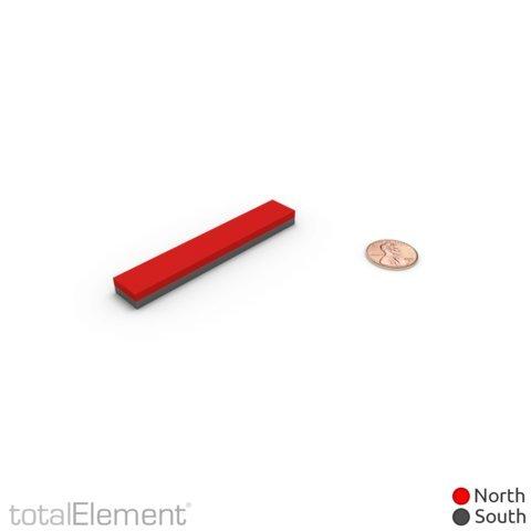 totalElement Super Strong Industrial Grade 3 x 1//2 x 1//4 Inch Neodymium N48 Bar Magnet