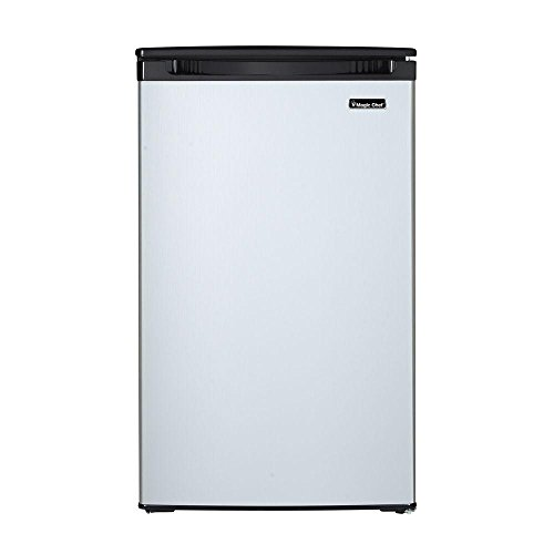 Price comparison product image 4.4 cu. ft. Mini Refrigerator with Freezerless Design in Stainless Steel