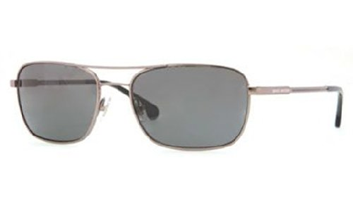 Brooks Brothers BB4016 Sunglasses 150787-56 - Gunmetal Frame, Grey - Sunglasses Brothers Brooks