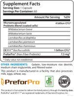 BioTrust Pro-X10 Probiotic & Prebiotic Supplement | Immune System & GI Health Support | Non GMO |Gluten, Soy & Dairy free | Probiotic Digestion Support Formula | 60 Capsules