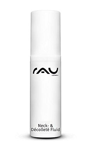 RAU Neck & Decolleté Fluid 5 ml - Spezialcreme für Hals und Dekolleté mit Mandelöl, Shea-Butter, ATP, Panthenol und Hyaluronsäure