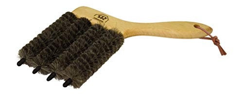 Redecker Dark Goat Hair - 4 In One - Venetian Blind Brush with Oiled Beechwood Handle, 4-3/4-Inches (Best Way To Clean Venetian Blinds In Kitchen)