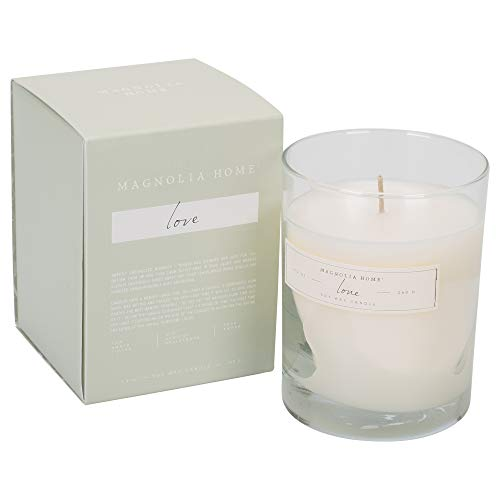 cented 9.2 oz Soy Wax Boxed Glass Candle by Joanna Gaines - Illume Pack of 2 ()