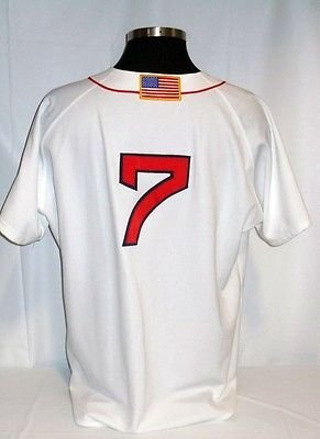 Christian Vazquez Boston Red Sox Home Jersey Jackie Robinson Flag Patch 1c7a8e5ba9b
