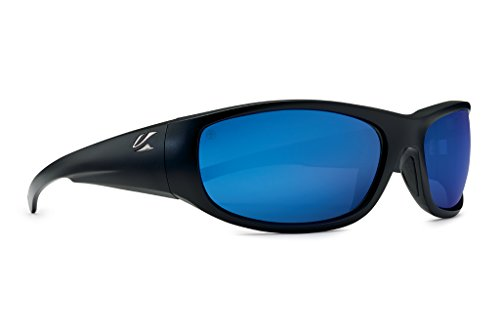 Kaenon Adult Capitola Sunglasses, Matte Black / Pacific Blue, One Size