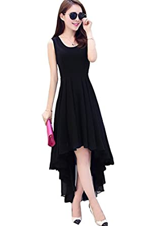 317235d553fe Vasundhara Mart Women s One Piece Western Dress  Amazon.in  Clothing    Accessories
