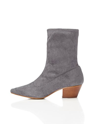 FIND Women's Faux Suede Slouch Boot Grey fashionable for sale outlet finishline clearance cost low price fee shipping cheap online online cheap online 9cwhSAL4S