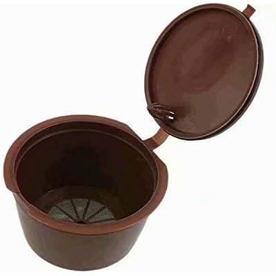 RICISUNG Para cápsulas de café de Nescafe Dolce Gusto cápsula Dolce reutilizable con filtro in Cafilas
