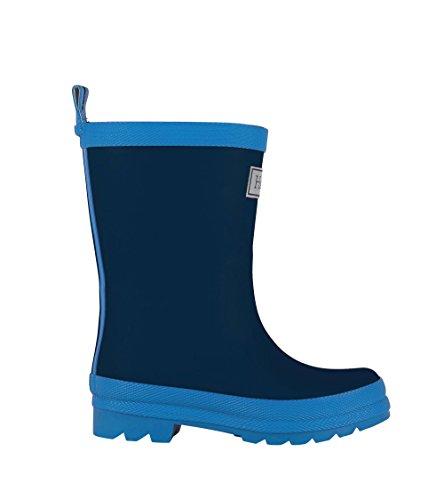 Hatley Jungen Classic Rain Boots Arbeits-Gummistiefel, Blau (Marineblau), 27 EU